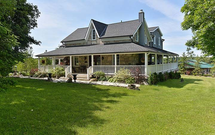 Trafalgar road north farm caledon country homes luxury for Country homes with acreage for sale